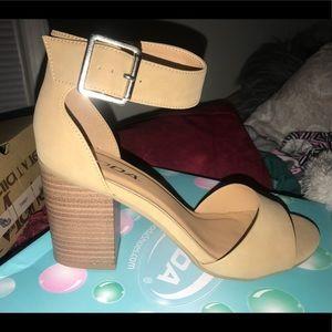 Soda Heeled Sandals